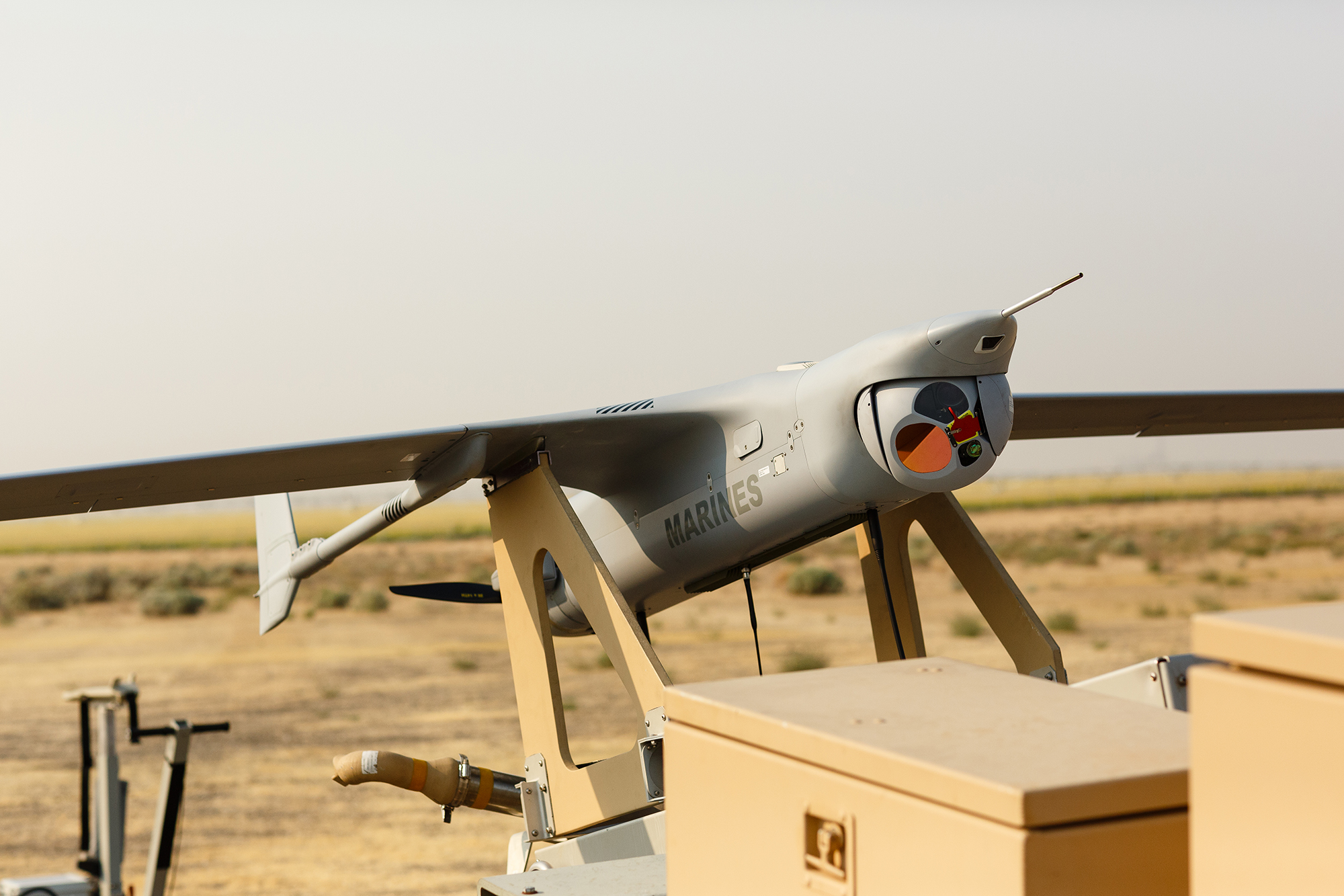 RQ-21A Blackjack on the Launcher